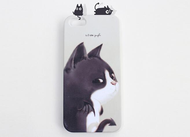 卖萌猫抱枕手机壳11