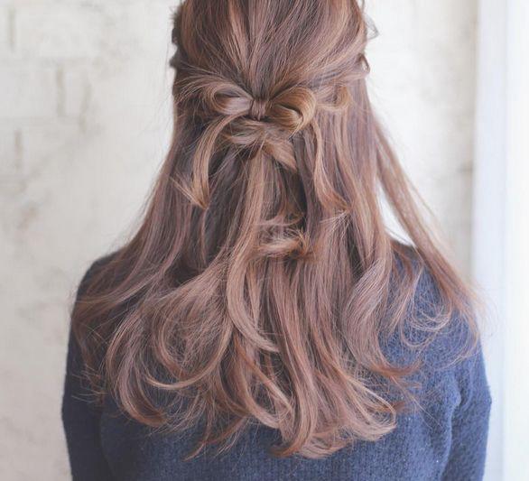 中长发发型扎法图解100种 中长发发型简单扎法